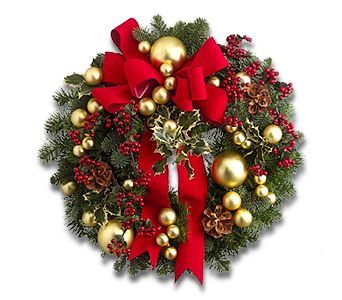 Wreath of Joy in Broomall PA, Leary's Florist