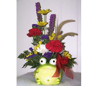 Toby the Toad in Longview TX, The Flower Peddler, Inc.