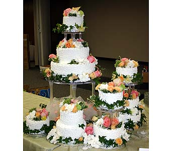 Wedding Cake in Little Rock AR, The Empty Vase