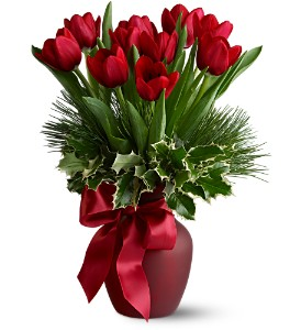 Tulip Tidings in Norwich NY, Pires Flower Basket, Inc.