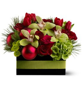 Holiday Chic in New York NY, Fellan Florists Floral Galleria
