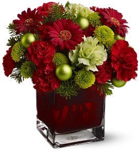 Teleflora's No�l Chic in Arlington TX, H.E. Cannon Floral & Greenhouses, Inc.