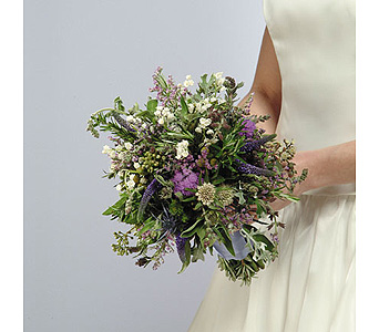 Herb Bouquet with Lily of the Valley in Abington MA, The Hutcheon's Flower Co, Inc.