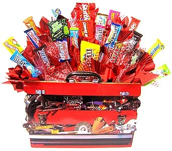 CB164 ''Tool Time'' Candy Arrangement in Oklahoma City OK, Array of Flowers & Gifts