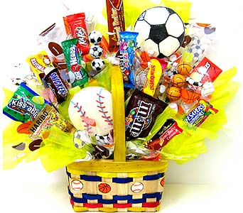 CB169 ''All Star'' Candy & Cookie Bouquet in Oklahoma City OK, Array of Flowers & Gifts