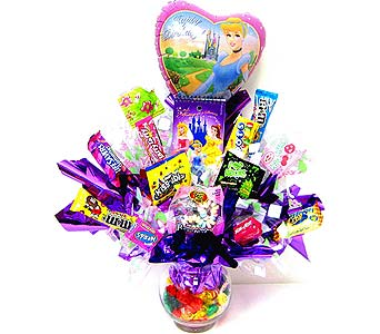 CB210 ''Princess'' Candy Bouquet in Oklahoma City OK, Array of Flowers & Gifts