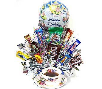 CB232 ''Take A Break'' Candy Bouquet in Oklahoma City OK, Array of Flowers & Gifts