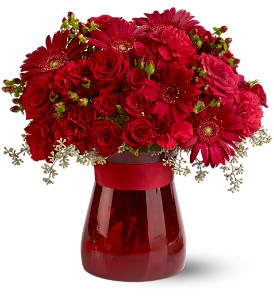 Lady in Red in Chesapeake VA, Lasting Impressions Florist & Gifts