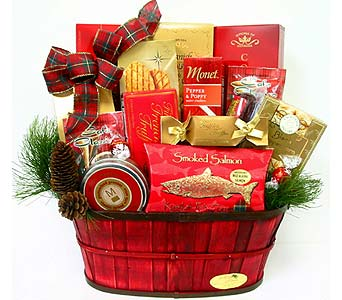 XGF111 ''Pick of the Season'' Gourmet Basket in Oklahoma City OK, Array of Flowers & Gifts