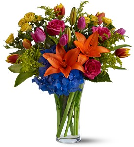 Burst of Color in Waukegan IL, Larsen Florist