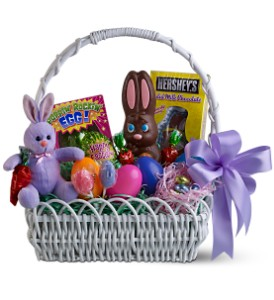 Sweet Bunny Basket in Bonita Springs FL, Bonita Blooms Flower Shop, Inc.