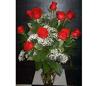 Dozen Red Roses - The Classic in Dallas TX, Z's Florist