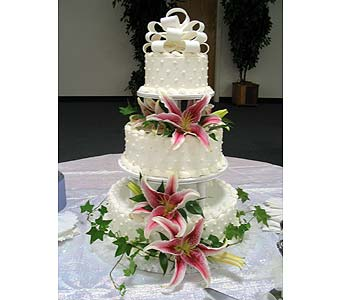 Cake Flowers in Bakersfield CA, All Seasons Florist