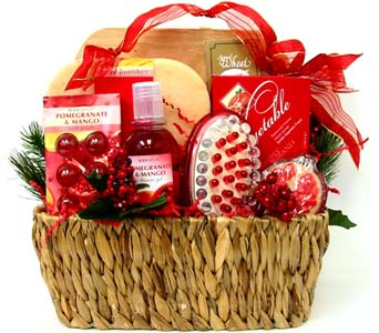 XGB113 ''Head to Toe'' Gift & Gourmet Basket in Oklahoma City OK, Array of Flowers & Gifts