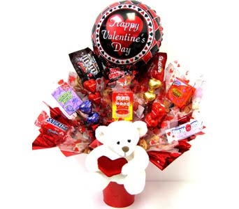 VCB52 ''Bearing Sweets'' Candy Bouquet in Oklahoma City OK, Array of Flowers & Gifts