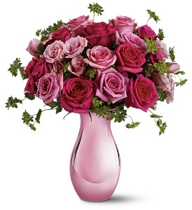 Teleflora's Spring Rose Bouquet in Corning NY, Northside Floral Shop