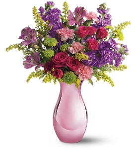 Teleflora's Joyful Garden Bouquet in Warren OH, Dick Adgate Florist, Inc.