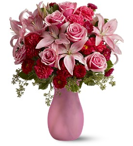 Pink Inspiration in San Diego CA, Eden Flowers & Gifts Inc.