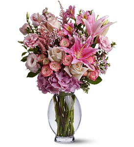 Teleflora's Pink Sonata in Bend OR, All Occasion Flowers & Gifts