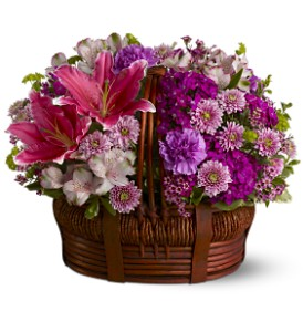Basket of Bliss in Bonita Springs FL, Bonita Blooms Flower Shop, Inc.