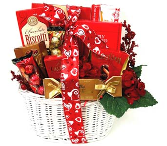 VGF32 ''Sweeter Days'' Gourmet Food Basket in Oklahoma City OK, Array of Flowers & Gifts