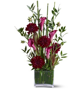 Teleflora's Callas in the Grass in St. Helens OR, Flowers 4 U & Antiques Too