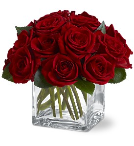 Teleflora's Dozen Rose Contempo in Bend OR, All Occasion Flowers & Gifts