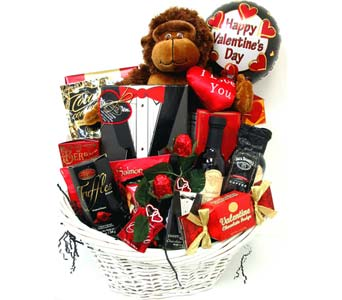 VGB318 ''A King's Feast'' Gourmet Basket in Oklahoma City OK, Array of Flowers & Gifts