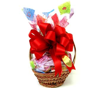 COOKIE5 ''Happy Days'' Cookie Basket in Oklahoma City OK, Array of Flowers & Gifts