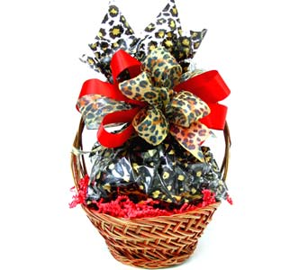 COOKIE6 ''Jungle Love'' Cookie Basket in Oklahoma City OK, Array of Flowers & Gifts