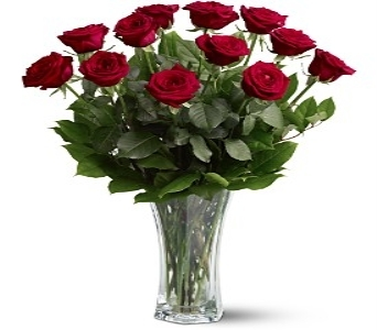 A Dozen Premium Red Roses in Midwest City OK, Penny and Irene's Flowers & Gifts