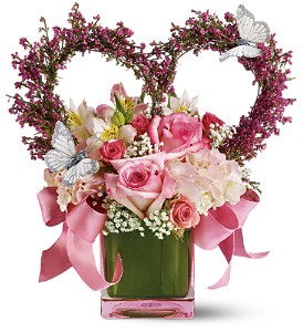 The Enchanted Bouquet by Teleflora in Houston TX, Medical Center Park Plaza Florist