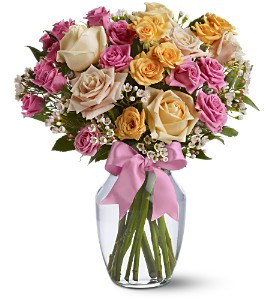Springtime Roses in Belford NJ, Flower Power Florist & Gifts