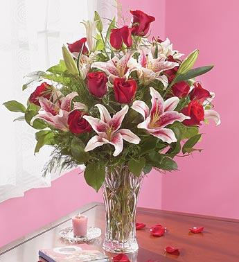 Roses and Lilies in Lenox® in Burlington NJ, Stein Your Florist
