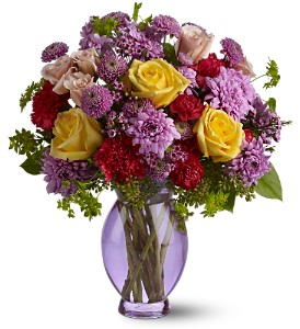 Teleflora's Stratford Gardens Deluxe in New York NY, Fellan Florists Floral Galleria