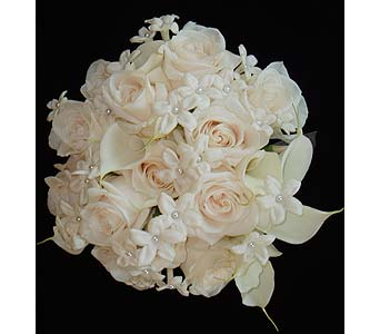 Elegant White Bouquet in Atlanta GA, Buckhead Blooms