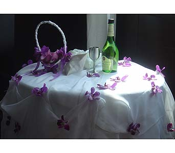 Orchid Flower Table in Atlanta GA, Buckhead Blooms