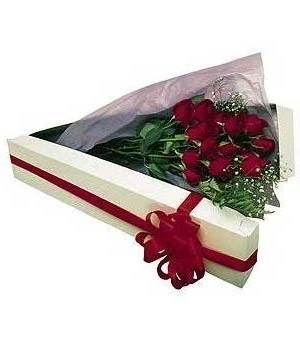 Dozen Roses Boxed in Pickering ON, Trillium Florist, Inc.