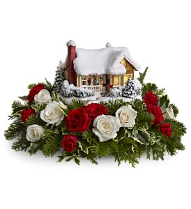 Thomas Kinkade's Childhood Home by Teleflora in Glen Rock NJ, Perry's Florist