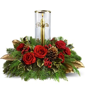 Teleflora's Golden Peace Bouquet in Lakeland FL, Petals, The Flower Shoppe