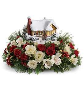 Thomas Kinkade's Childhood Home by Teleflora - DX in Oklahoma City OK, Array of Flowers & Gifts