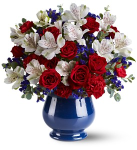 Sweet Liberty Bouquet in Oklahoma City OK, Array of Flowers & Gifts
