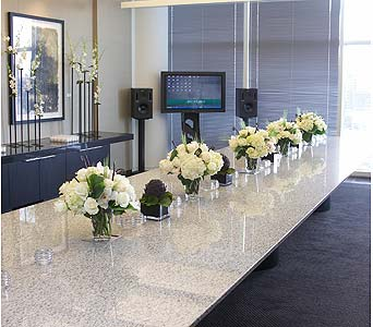 Conference Table in Atlanta GA, Buckhead Blooms