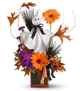 Teleflora's Ghostly Greetings in Jensen Beach FL, Brandy's Flowers & Candies