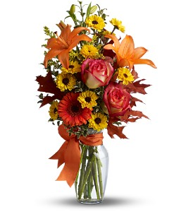 Burst of Autumn in Lenexa KS, Eden Floral and Events