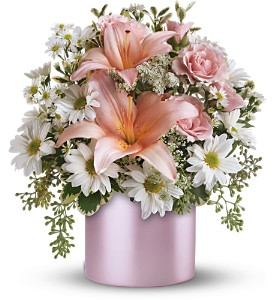 Teleflora's Tickled Pink Bouquet in Isanti MN, Elaine's Flowers & Gifts