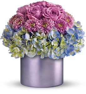 Teleflora's Lovely in Lavender in Dubuque IA, New White Florist