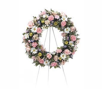 Wreath Standing Spray in Abington MA, The Hutcheon's Flower Co, Inc.