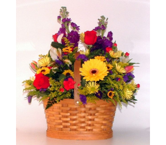 Bountiful Basket in Salisbury MD, Kitty's Flowers
