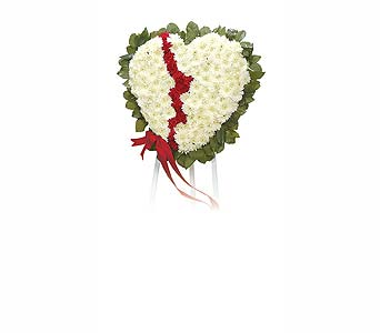Broken Heart in Abington MA, The Hutcheon's Flower Co, Inc.